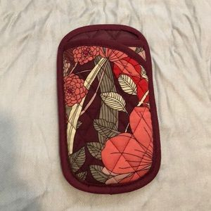 Vera Bradley soft glasses case